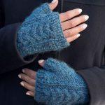 Free Knitting Pattern for Fingerless Mitts