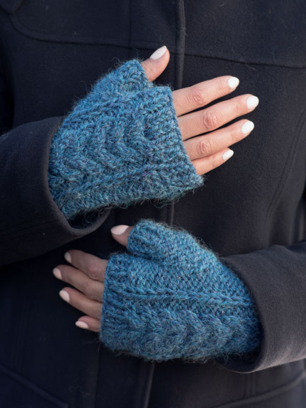 Free Knitting Pattern for Fingerless Mitts