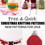 Free and Quick Christmas Knitting Patterns for 2018