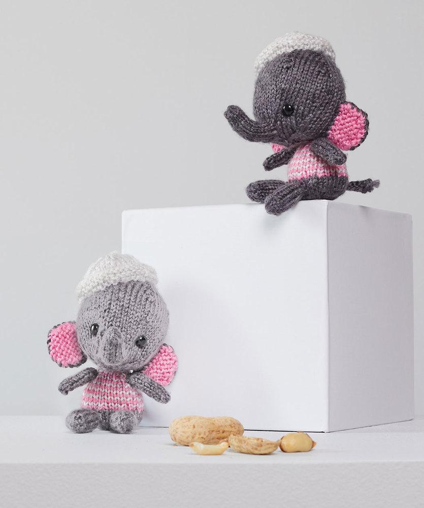 Little Elephant Amigurumi Free Knitting Pattern | Knitting ... | 1000x835