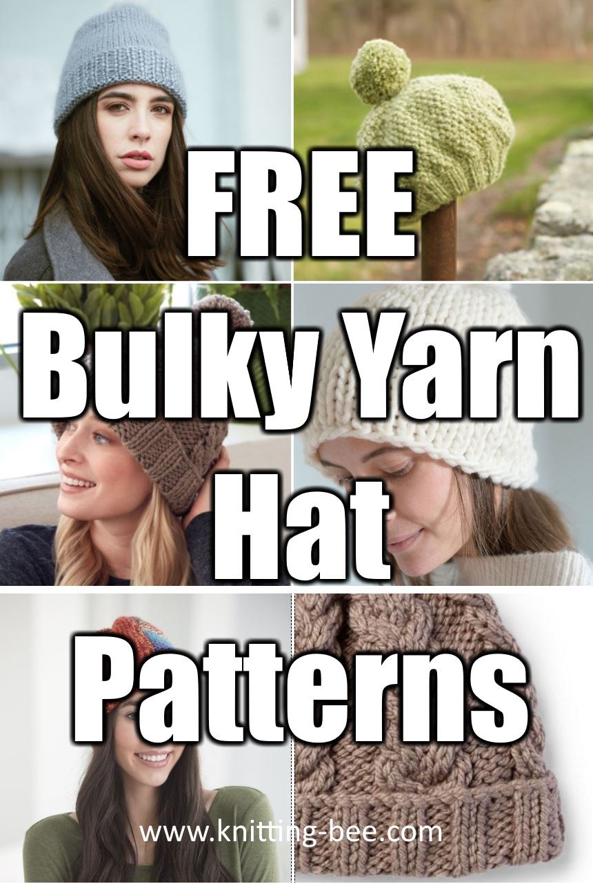 Free Bulky Yarn Hat Patterns To Knit For This Winter