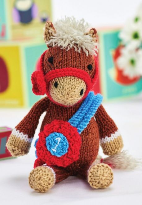 Free Knitting Pattern for Theodore The Horse
