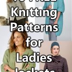 Free knitting pattern for ladies jackets