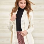 Free Knitting Pattern for a Long Everyday Cardigan for Women