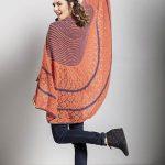 Free Knitting Pattern for a Lace Shawl Magma