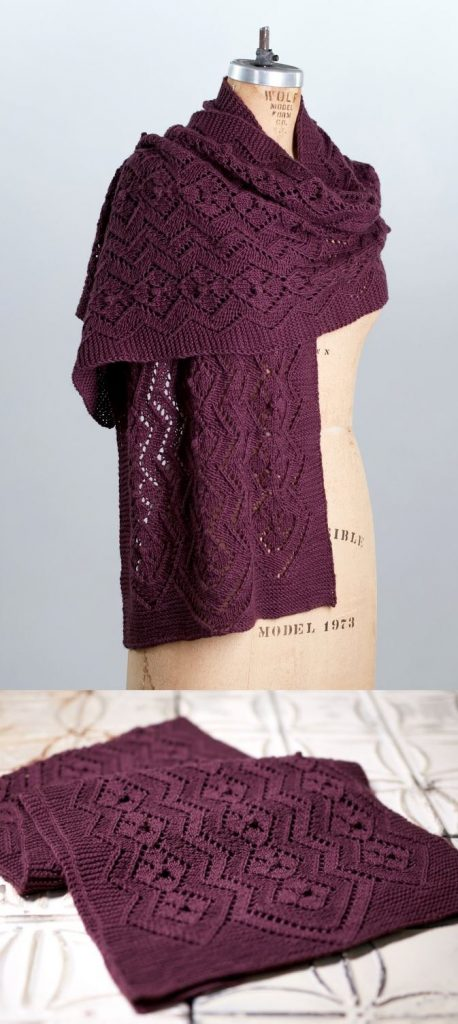 Free Lace Knitting Patterns for a Scarf
