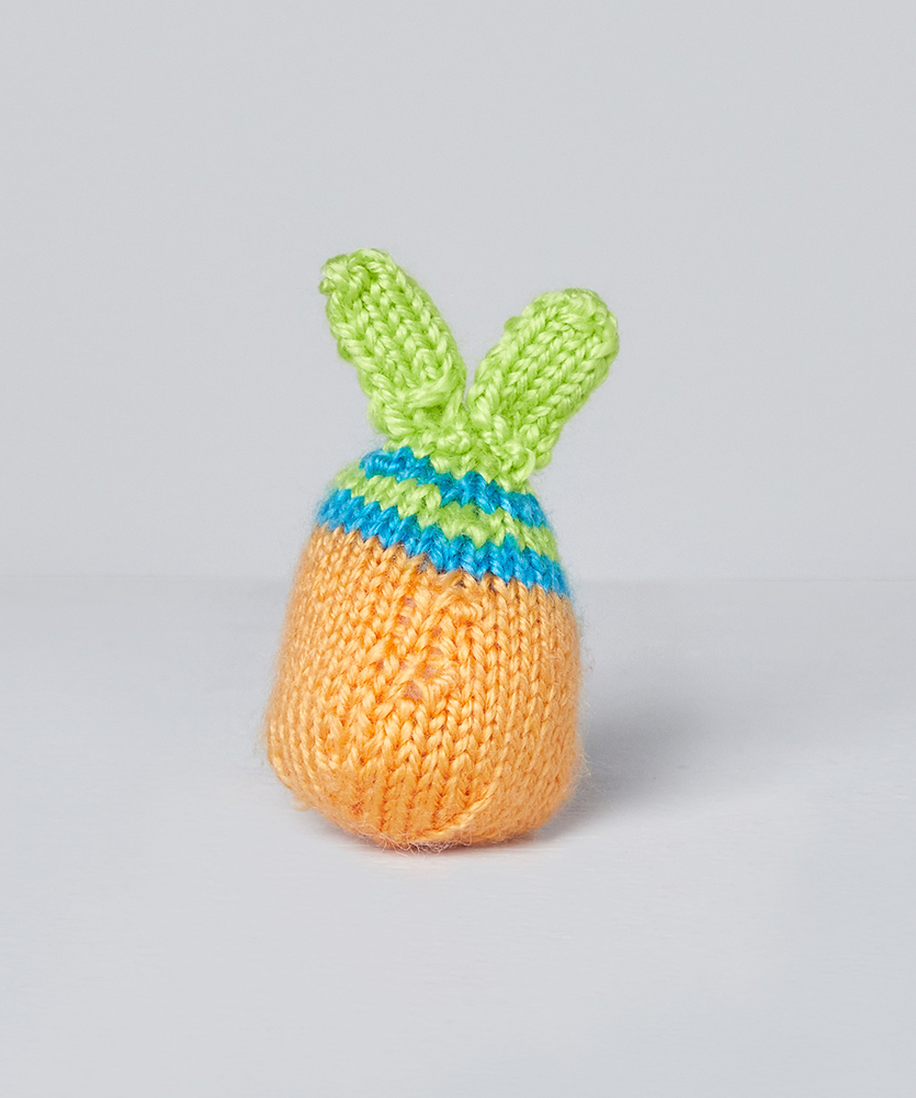 Free Easter Knitting Pattern for Chrissy Knit Chick and the Egg-stras