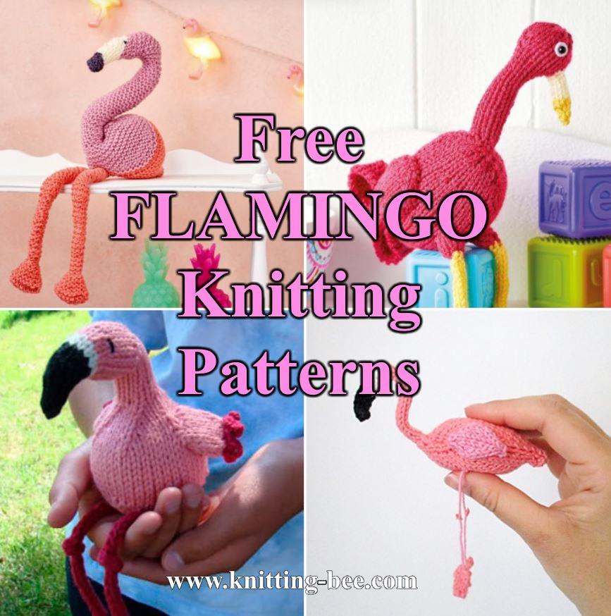 Free Flamingo Crochet Pattern Round Up - The Loopy Lamb | 874x867