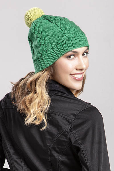 Free Knitting Pattern for Patty's Hat