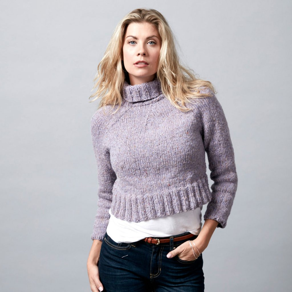 Free Knitting Pattern for a Bush Without a Paddle Sweater