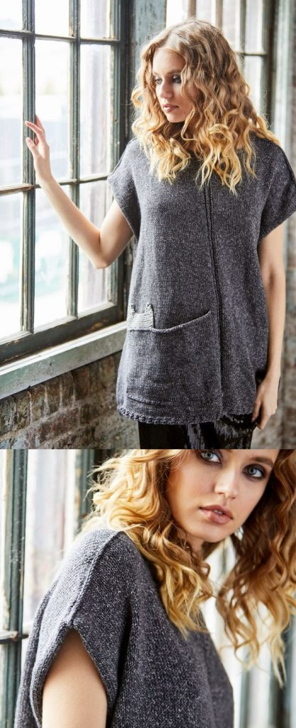 Free Knitting Pattern for the Hideaway Tunic