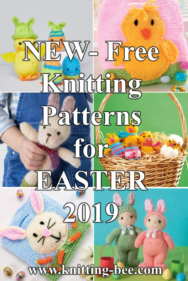 Free Knitting Patterns for Easter 2019