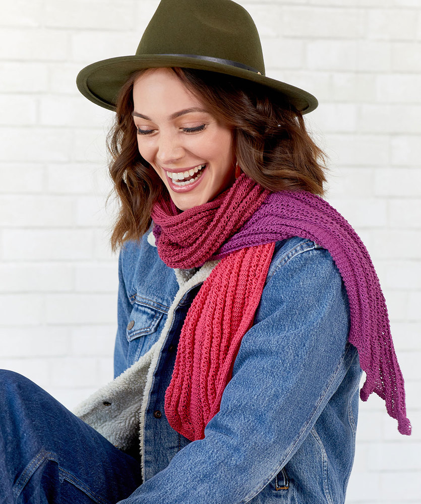 Free Knitting Pattern for a Long and Skinny Scarf
