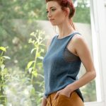 Free Pattern for a Simple Tank Top Knit