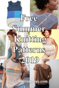 Free Summer Knitting Patterns 2019