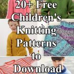 20+ Free Children's Knitting Patterns to Download
