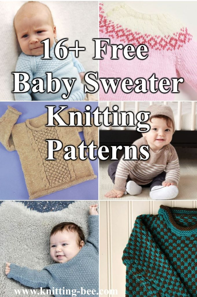 16 Free Baby Sweater Knitting Patterns To Download Now