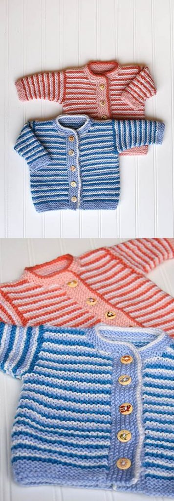 Free Children's Knitting Patterns to Download Cardigan for boys and girls