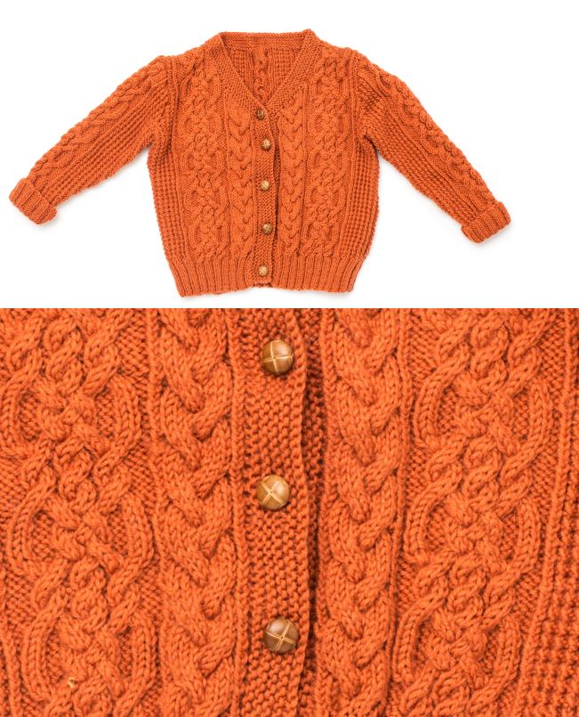 Free Children's Knitting Patterns to Download Patons Cable Cardigan