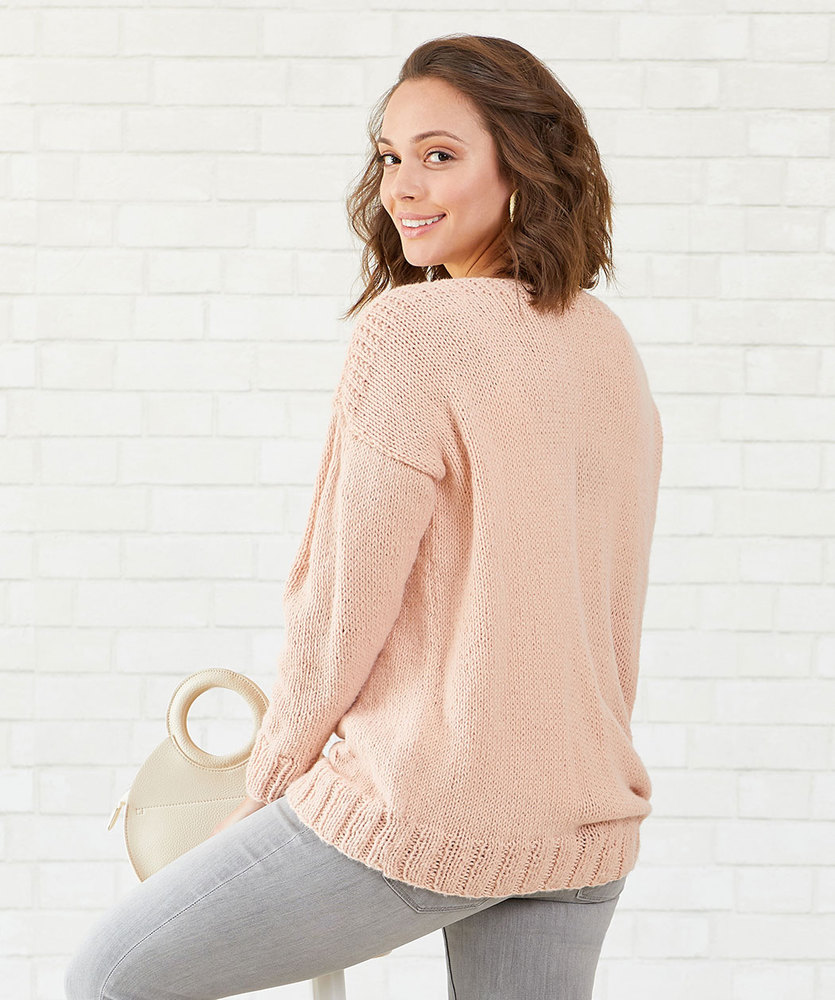 Free Knitting Pattern for My First Knit Sweater