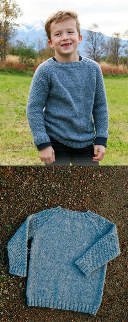 Free sweater knitting pattern for boys