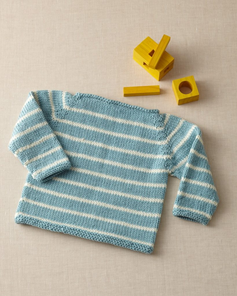 free baby sweater knitting pattern with raglan