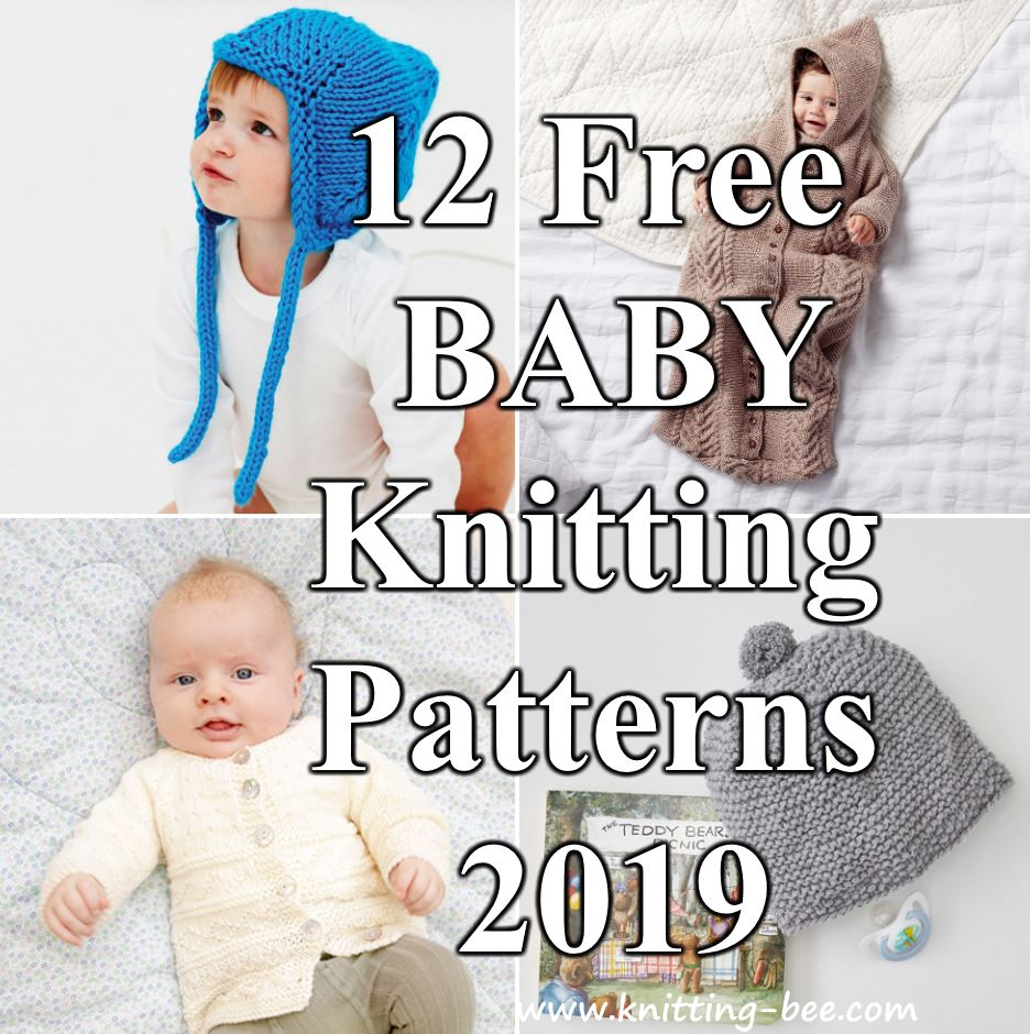 12 Free Baby Knitting Patterns for 2019