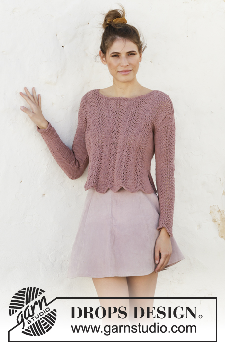 Free Knitting Patterns for Cotton Yarn for Ladies