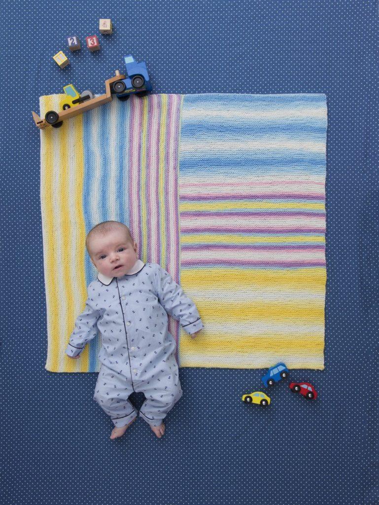 Easy Baby Blanket Knitting Pattern for Beginners
