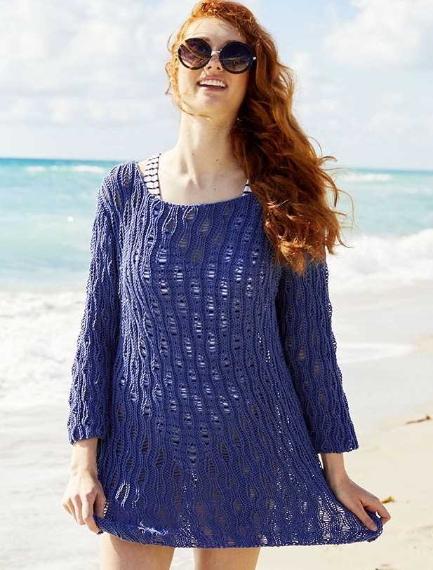free knitting patterns for cotton tops