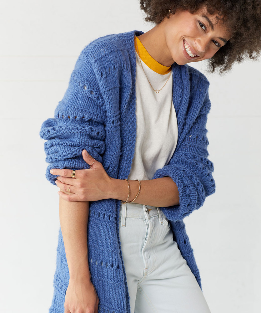 Free Knitting Pattern for a Lovely Cardigan