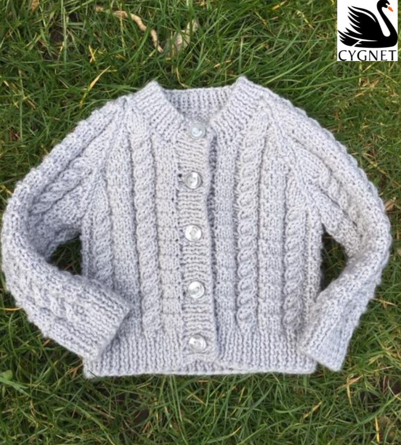 Free baby knitting pattern 2019 cardigan