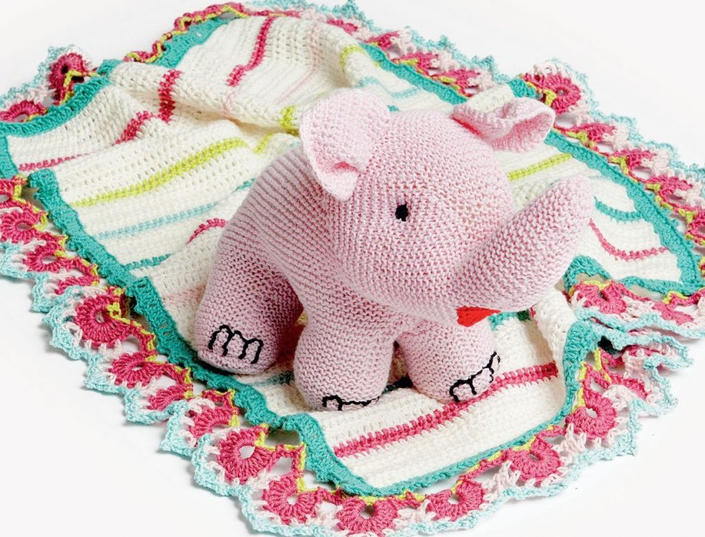 Free Knitting Pattern for a Sweet Little Elephant