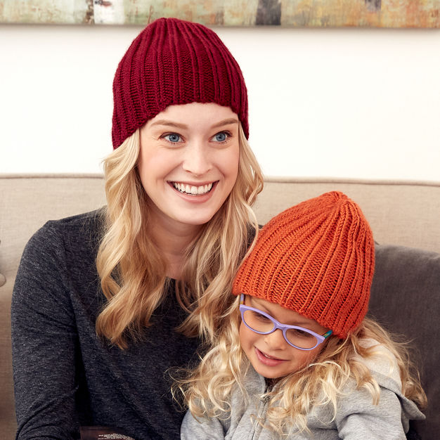 Easy Knitted Beanie Pattern
