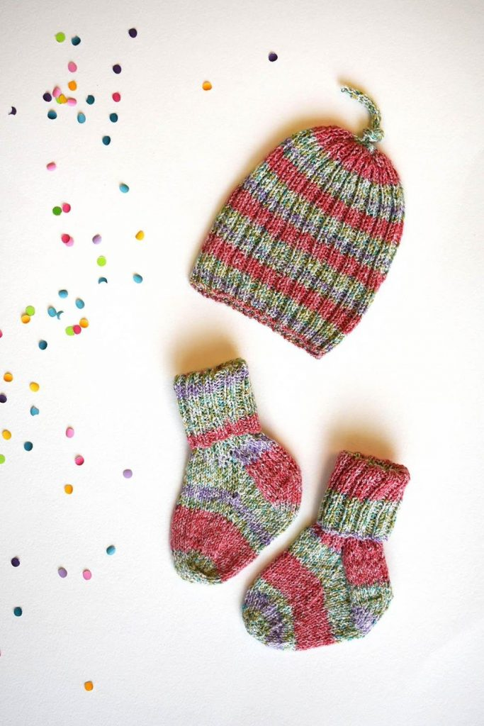 Free Knitting Pattern Itty Bitty Set