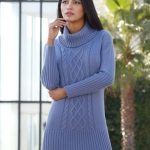 Free Knitting Pattern for a Modern Knit Dress