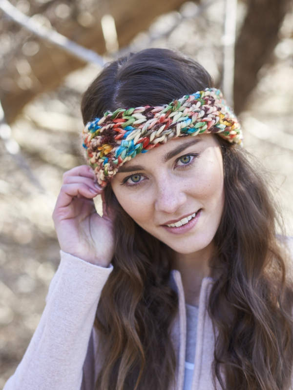 Free Knitting Pattern for an Easy Headband