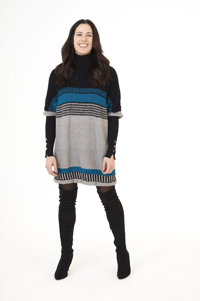 Free Knitting Pattern for a Boxy Tunic