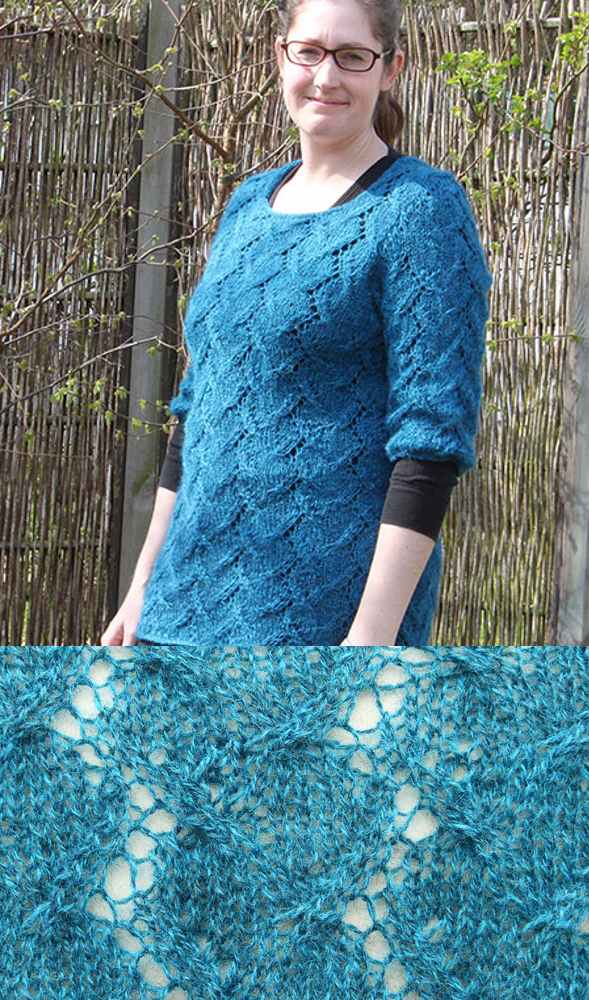 Free Lace tunic knitting patterns