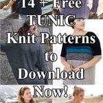 14 + Free Tunic Knitting Patterns to Download Now