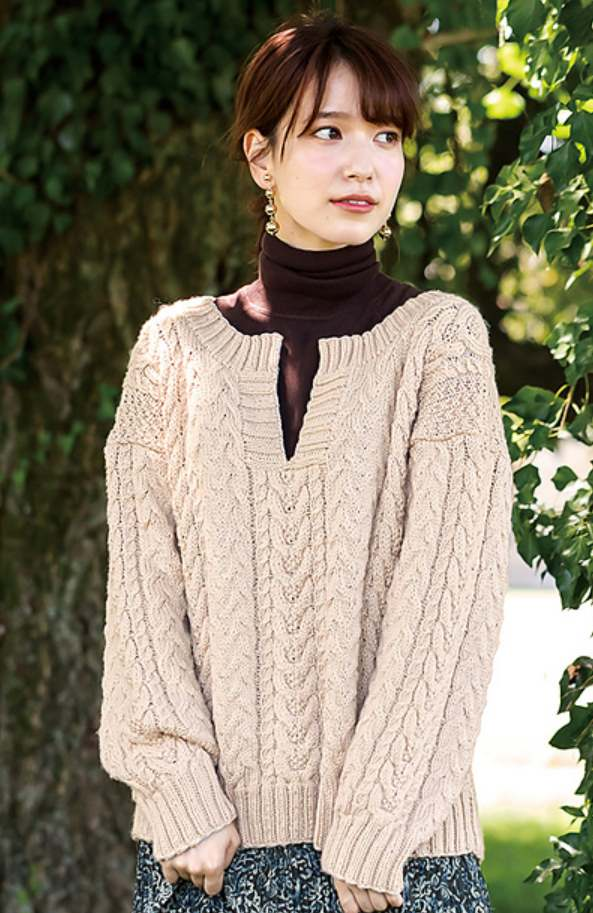 Cable sweater knitting pattern free 2019