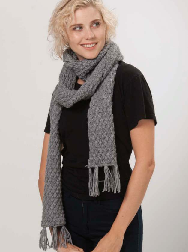 Free Scarf Knitting Patterns Australia Lincraft