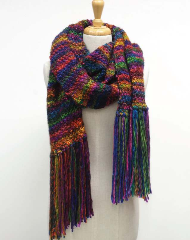 Free Scarf Knitting Patterns Australia Patons