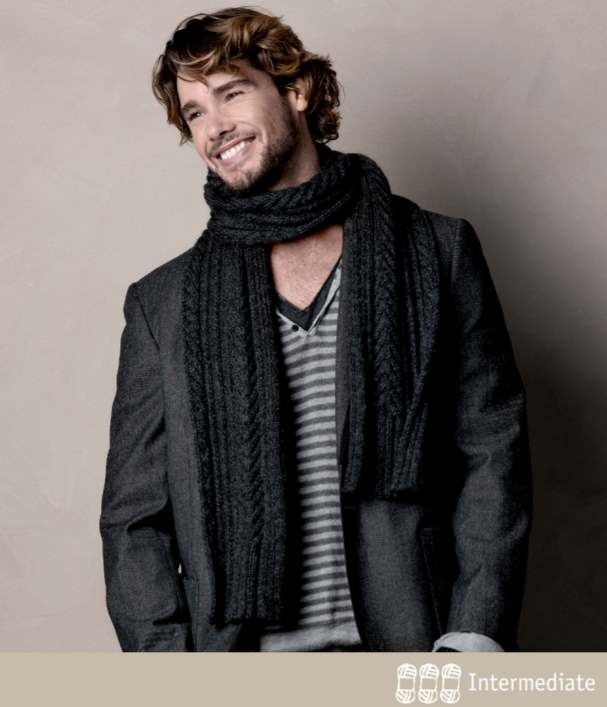 Free Scarf Knitting Patterns Australia cleckheaton 8 ply for men
