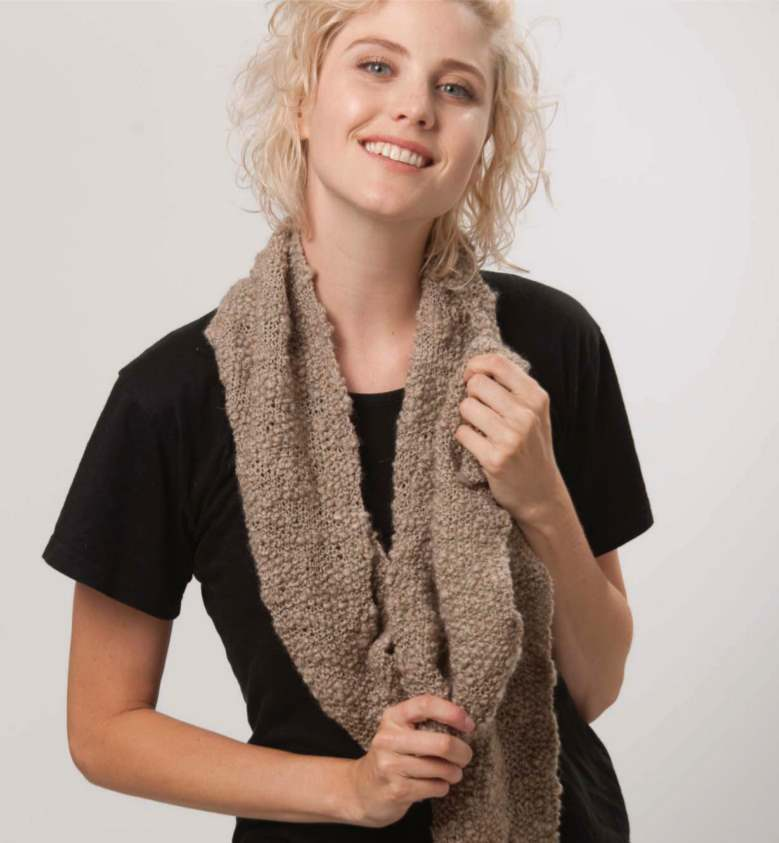 Free Scarf Knitting Patterns Australia seed stitch