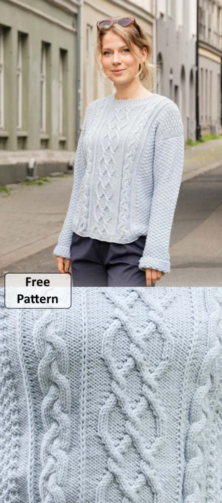 Free Women's Cable Knit Sweater Patterns