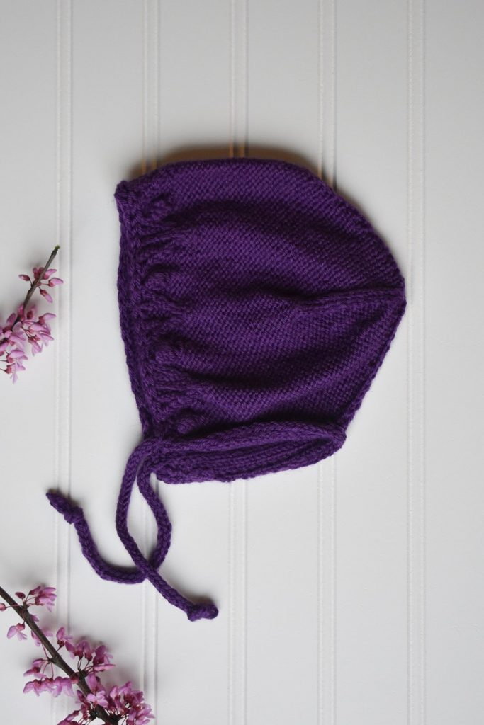 Free Knitting Pattern for a Petite Bonnet