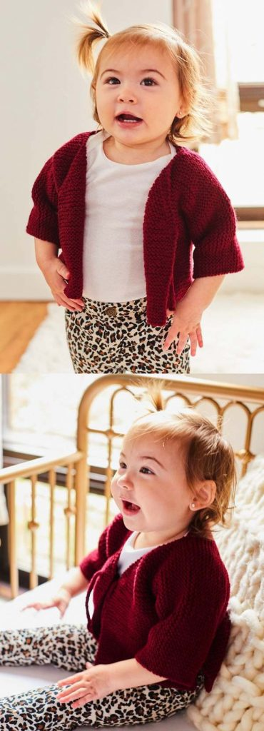 Beginner baby knitting pattern free