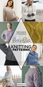 Cable Sweater Knitting Patterns Free