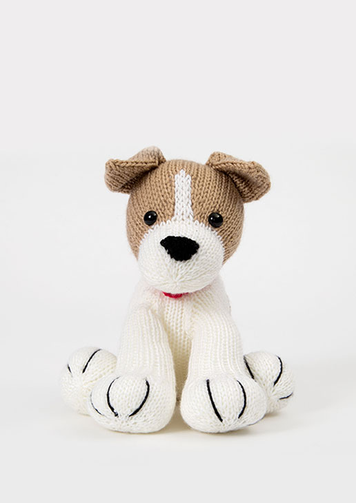 Free Knitting Pattern for a Jack Russell Dog